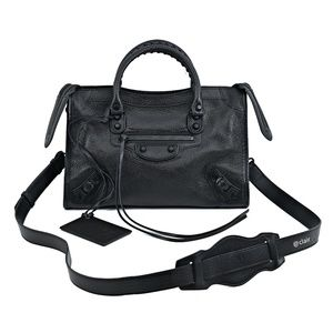 Balenciaga Small Classic Metallic Edge City Bag